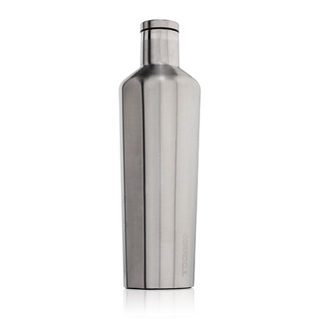Brushed Steel 25oz Corkcicle Canteen