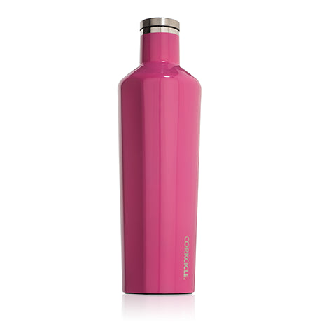 Gloss Pink 25oz Corkcicle Canteen