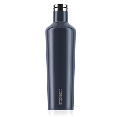 Gloss Graphite 25oz Corkcicle Canteen