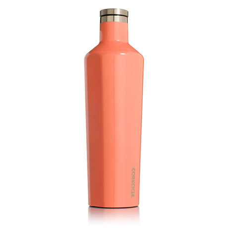 Gloss Peach Echo 25oz Corkcicle Canteen