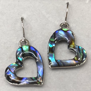 Wild Pearle Jewelry Heart Earrings