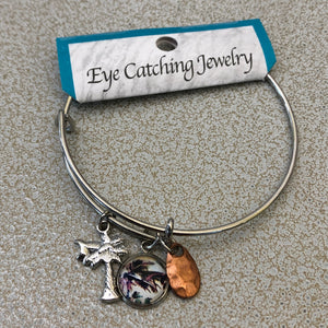 Eye Catching Jewelry Palm Bangle