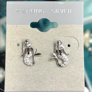 Sea Inspired Mermaid Earrings