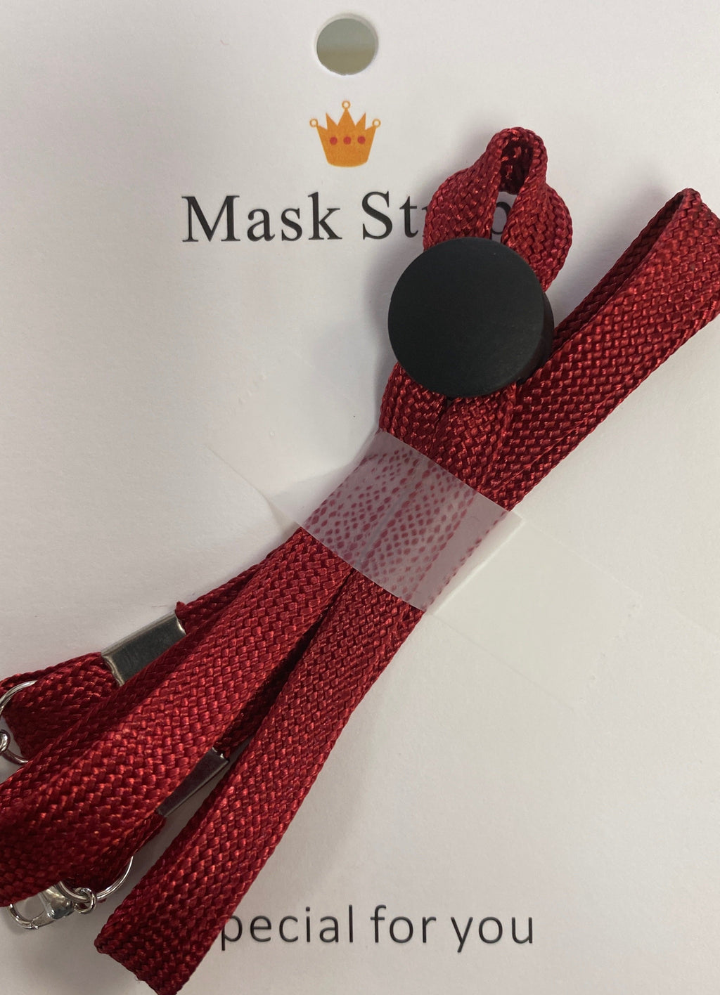 Mask Strap-Red