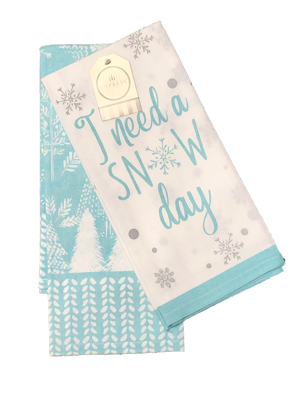 I Need a Snow Day Tea Towel Set