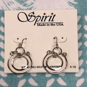 Spirit Circle Earrings