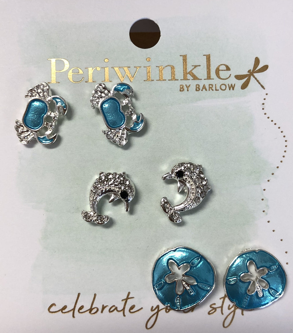 Periwinkle Sea Life Earrings