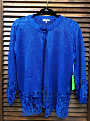 Trish Tyler Royal Blue Cardigan