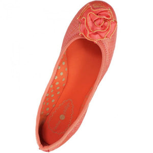 Lindsay Phillips Coral Liz Burnished Flat