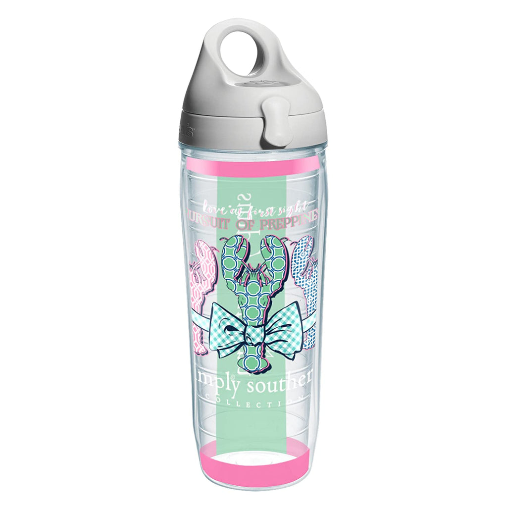 Simply Southern Tervis Water Bottle-Lobster