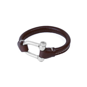 CXC - Bracelet B0009 Brown Leather