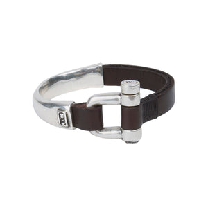 CXC - Bracelet B0029 Dark Leather