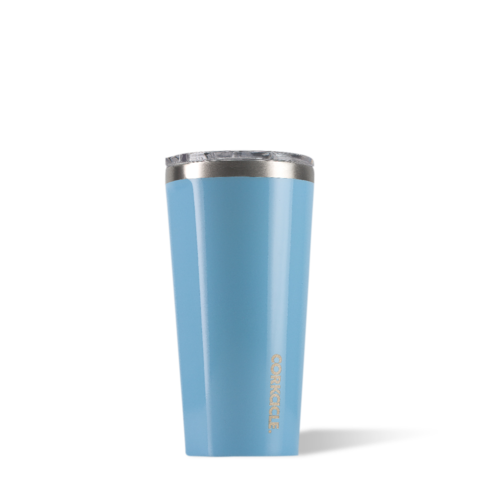 Blue Skies 16oz Corkcicle Tumbler