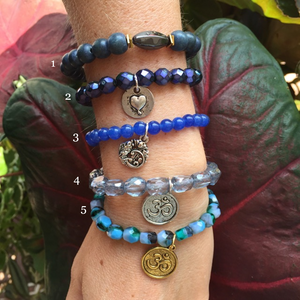 Water.org Chavez for Charity Bracelets (Blue)