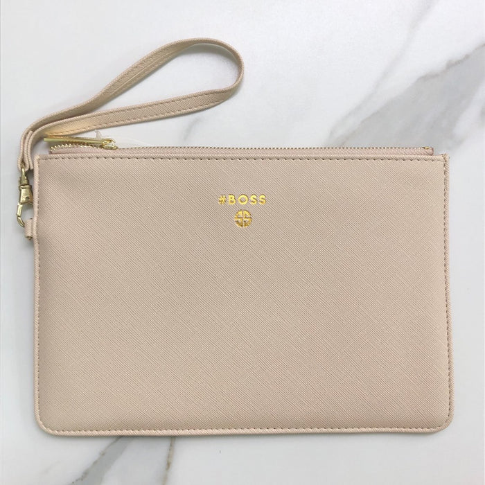 Simply Southern Boss Vegan Leather Clutch