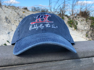 Buddy by the Sea Blue Flag Hat