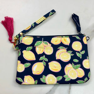 Simply Southern Lemon Wristlet Wallet