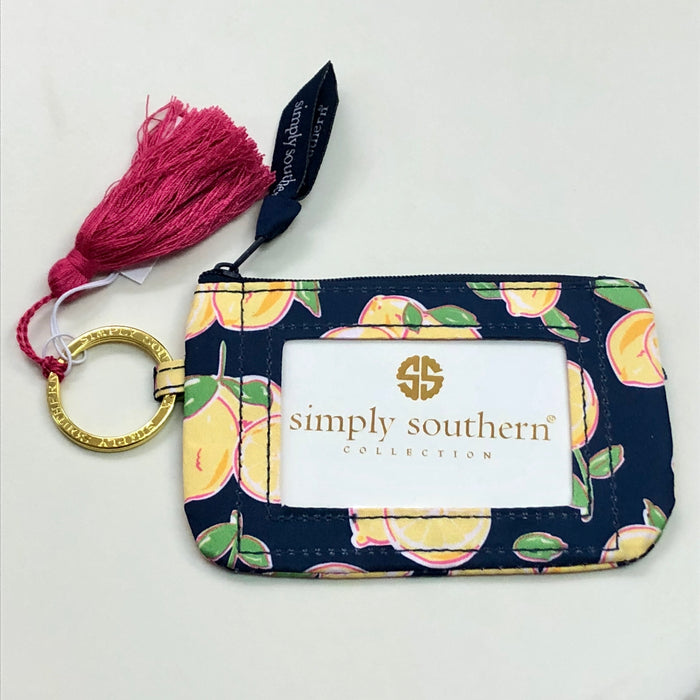 Simply Southern Lemon Key ID Holder