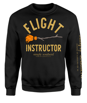 Simply Southern Flight Instructor Crew Neck Sweatshirt
