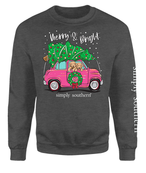 Simply Southern Merry & Bright Crew Neck