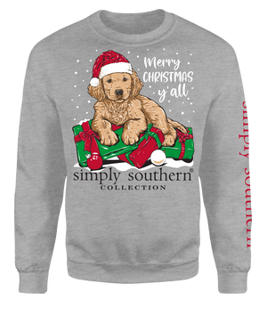 Simply Southern Merry Christmas Ya'll Crew Neck