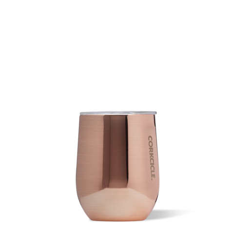 Copper 12oz Corkcicle Wine Glass