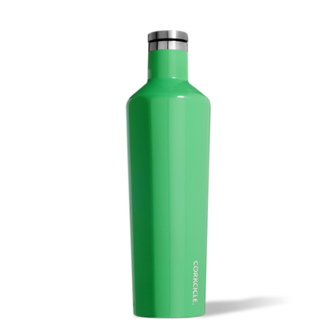Gloss Caribbean Green 25oz Corkcicle Canteen
