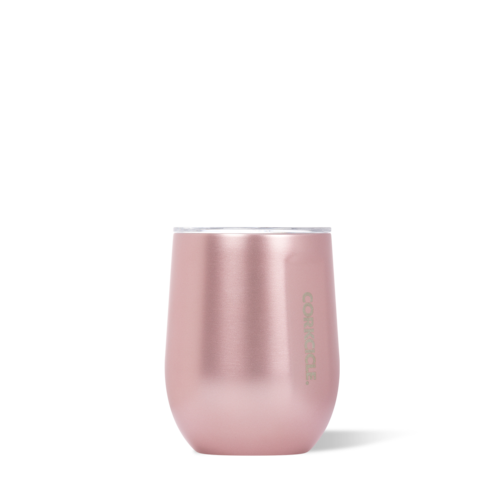 Rose Metallic 12oz Corkcicle Wine Glass