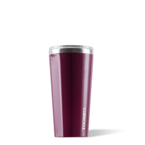 Gloss Merlot 16oz Corkcicle Tumbler