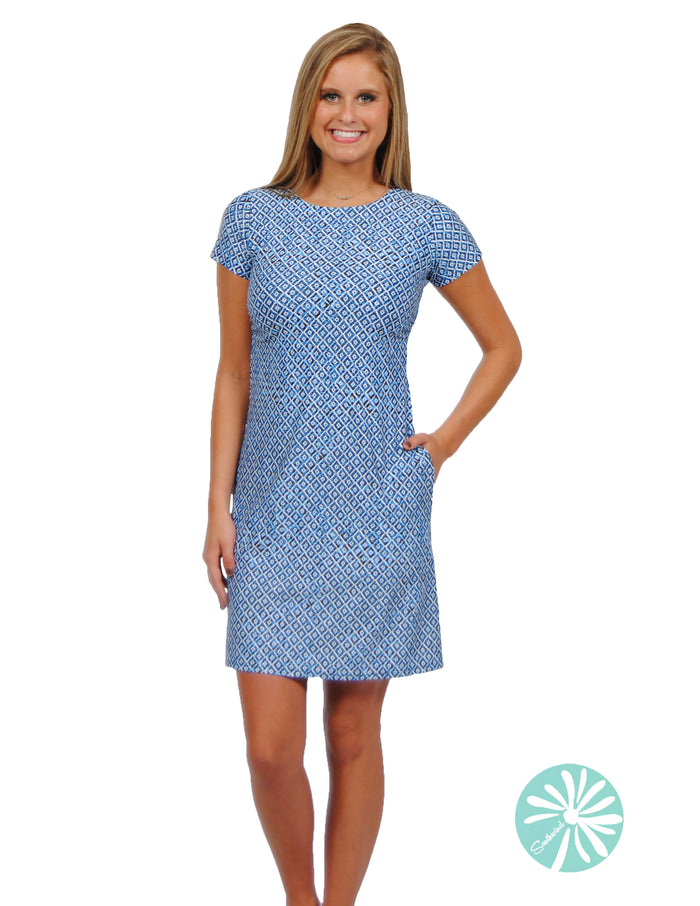 Southwind Hobe Tee Dress, Scales
