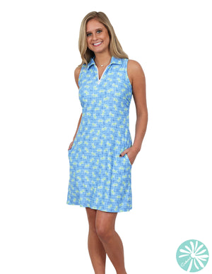 Southwind Avalon Dress, Lime Crab