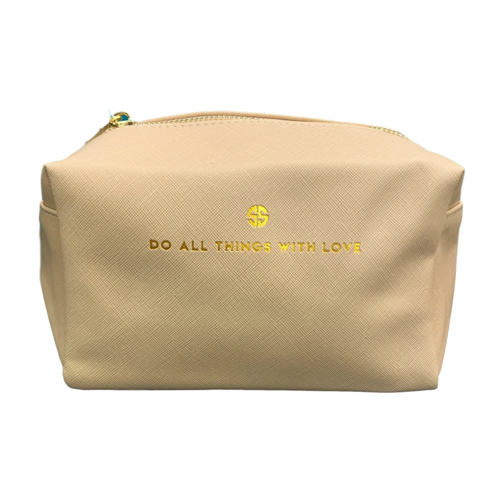 Simply Southern Do All Things With Love Cosmo Bag
