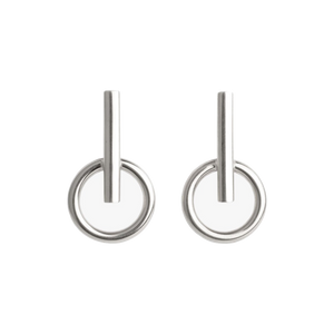 CXC - Earrings E0039 - Silver Plated