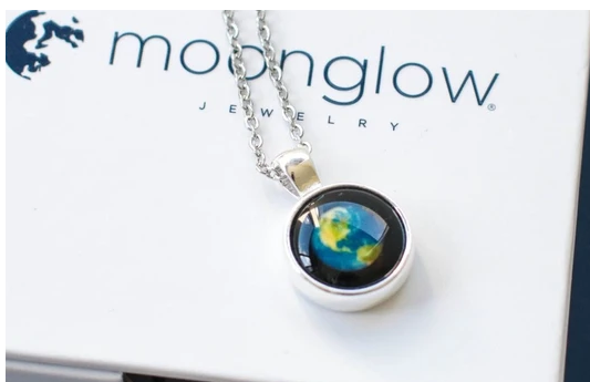 Moonglow Earth Day Necklace