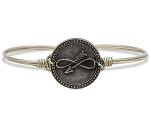 Luck + Protection Bangle, Embrace The Journey - Luca + Danni