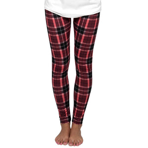 Simply Southern Plaid Leggings