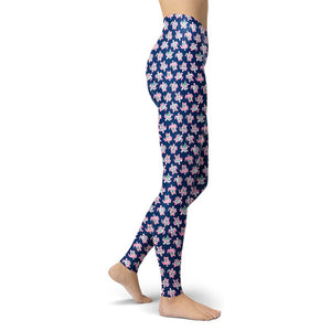 Simply Southern Navy Turtle Leggings