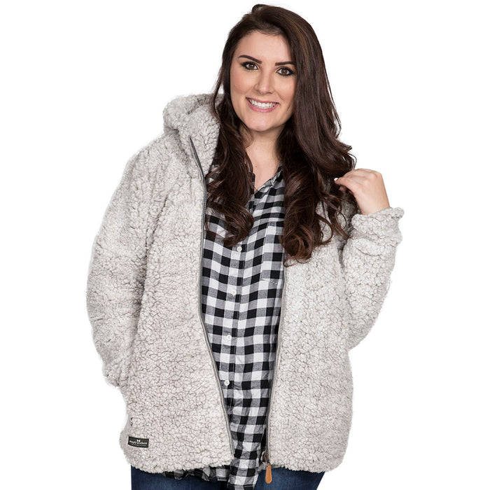 Simply Southern Pearl Hood Sherpa