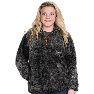Simply Southern Steel Sherpa Pullover