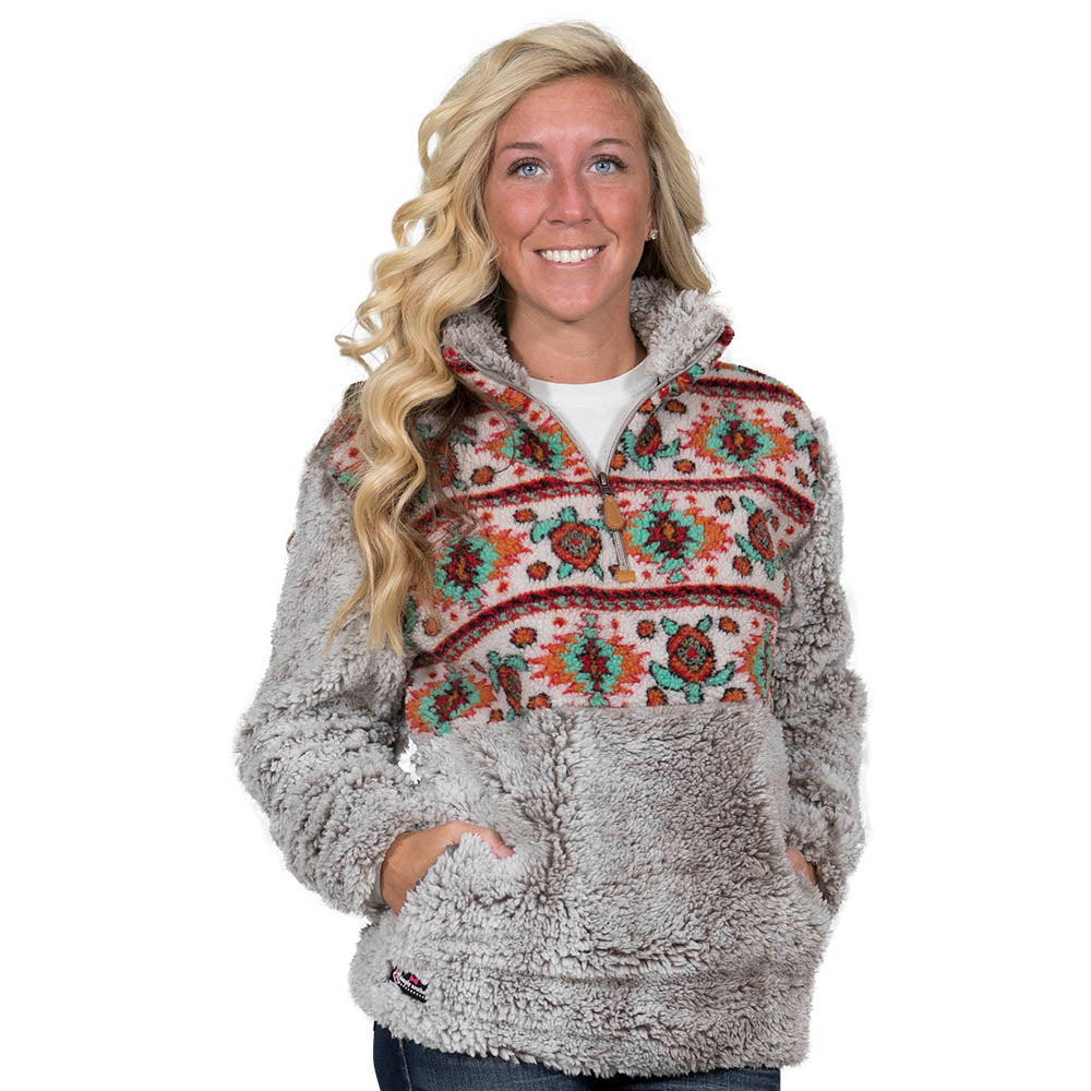 Simply Southern Turtle Sherpa Pullover