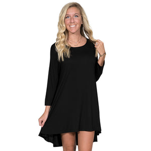 Simply Southern Black Tunic