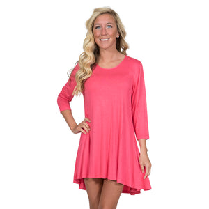 Simply Southern Coral Tunic