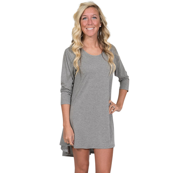 Simply Southern Heather Gray Tunic
