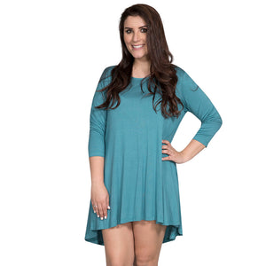 Simply Southern Teal Tunic