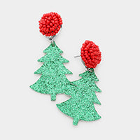 Christmas Earrings-Trees