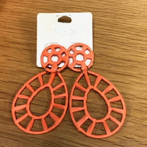 Orange No.3 Earrings