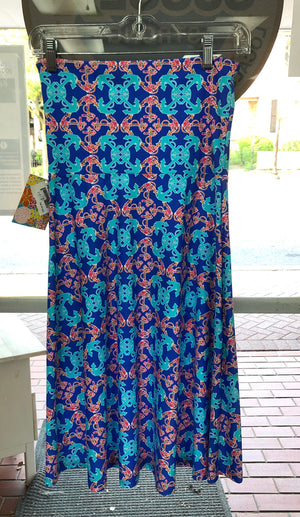 Southwind Laguna Bandeau Dress-Blue Anchor