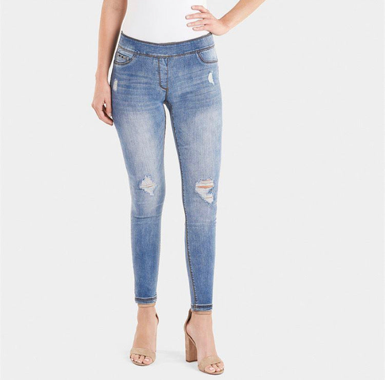 OMG Distressed Skinny Jean Regular Cut