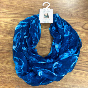 Lavello Blue Scarf