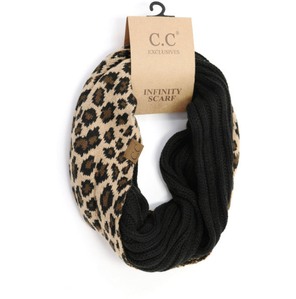 Double Scarf-Leopard and Black